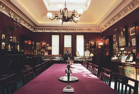 A view of the Long Room at Audley House