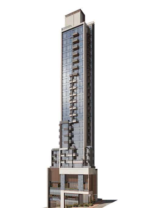 Computer rendering of EIGHT STAR STREET