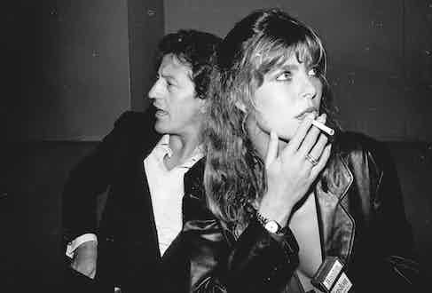 Philippe and Caroline at a nightclub in New York, 1977 (Photo by Sonia Moskowitz/Images/Getty images)