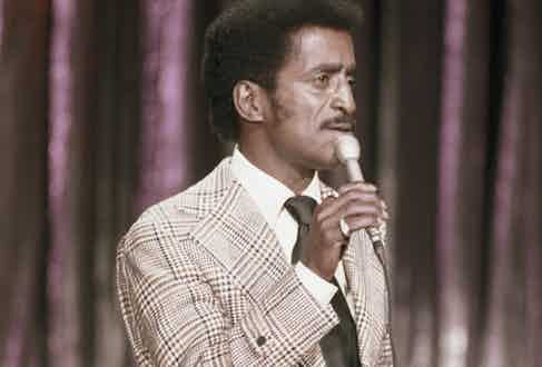 Sammy Davis Jr. performing in 1972. Photo by NBCU Photo Bank/NBCUniversal via Getty Images via Getty Images