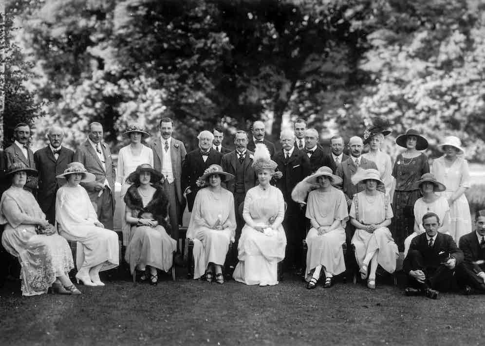 Raceweek houseparty, 1922 (Photo/Goodwood Estate Archives)