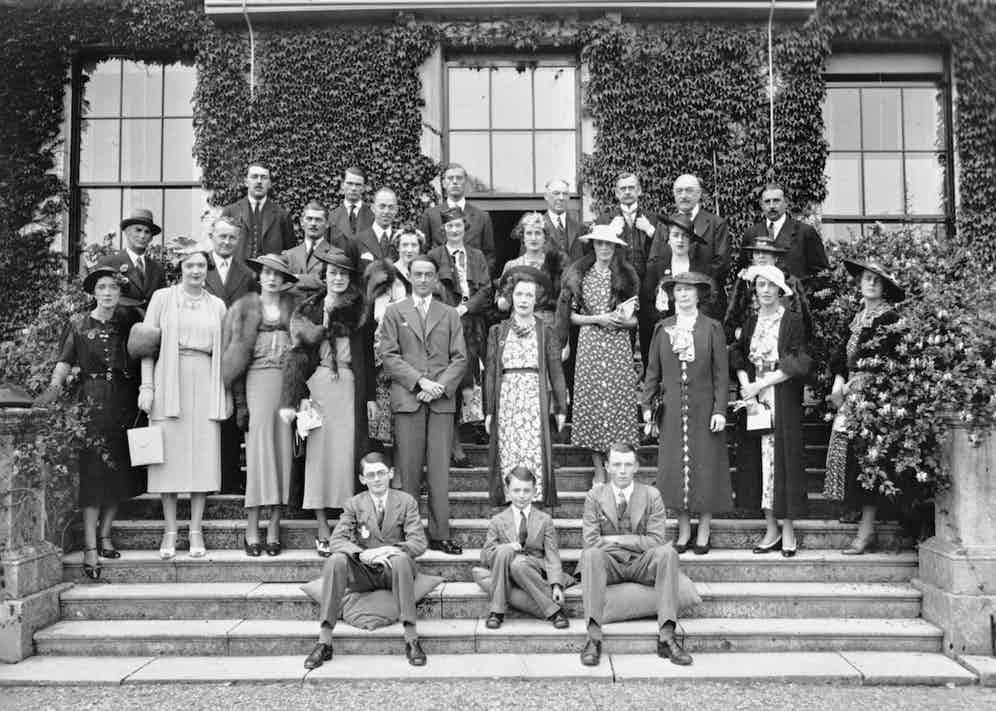 Raceweek houseparty, 1937 (Photo/Goodwood Estate Archives)