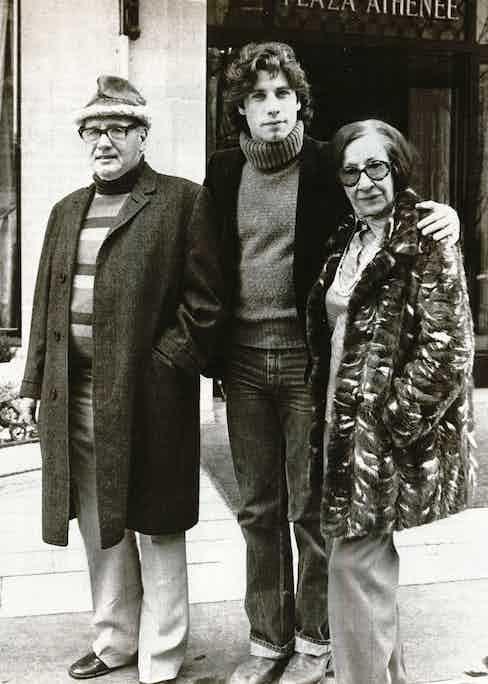 John Travolta, 1979 at the Plaza Athénée