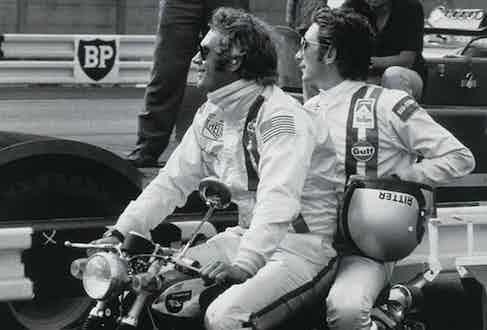 Steve McQueen and Jo Siffert