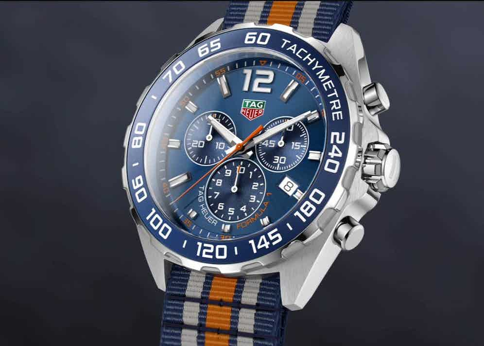 TAG Heuer Formula 1 reference CAZ1014.FC8196