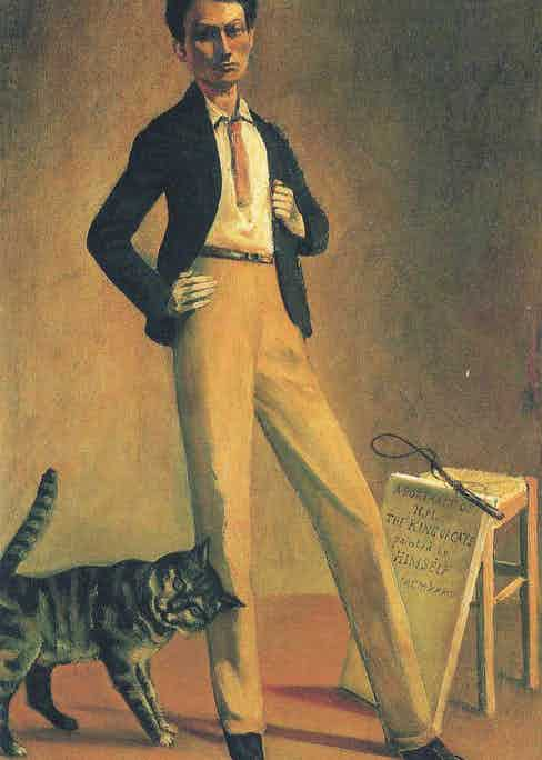 Balthus's self-portrait, The King of Cats, 1935