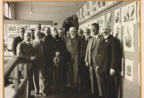 The Ornithological Congress in Amsterdam, 1930