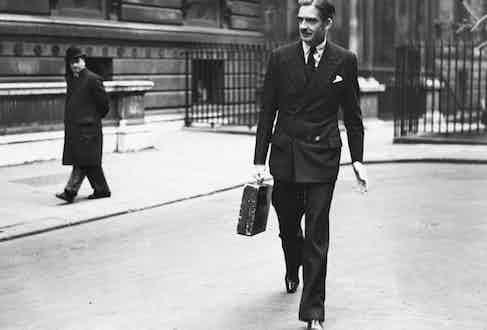 Sir Anthony Eden (Photo via Getty)