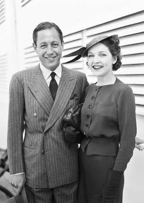 William S. Paley with his first wife, Dorothy Hart Hearst (Image by © Bettmann/CORBIS)