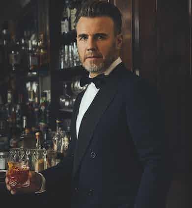 Gary Barlow at Dukes Bar