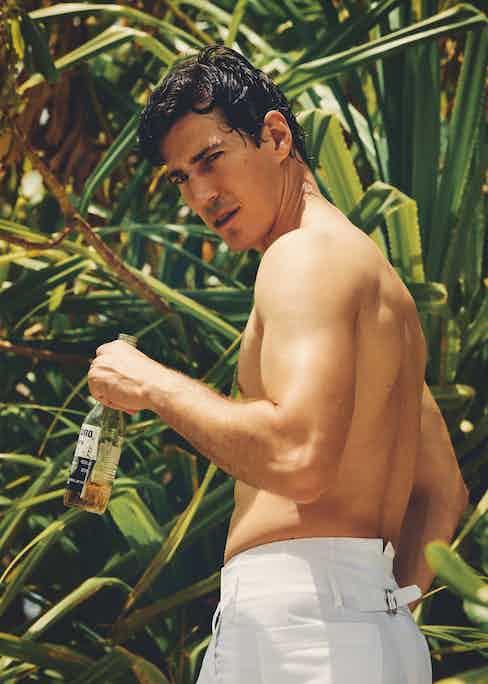 White cotton trousers, Lorenzo Cifonelli x The Rake