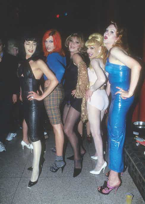 Dancers, drag queens and the Club Kids at Limelight (Photo by Steve Eichner/Getty Images)