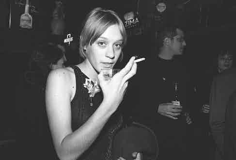 ChloëSevigny out in New York, 1996