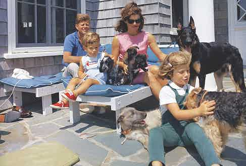 Kennedys on vacation in Hyannis Port (Photo by Granger/Shutterstock (8705546a)